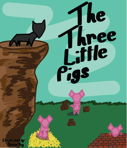 Mock Three Little Pigs cover by Emma May